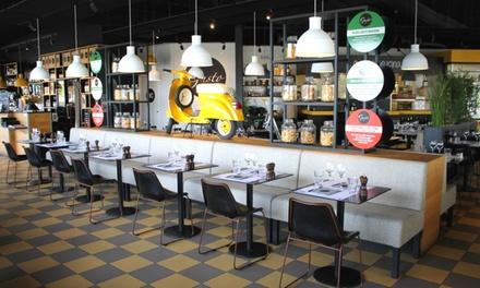 Entrée, plat et dessert au choix sur la carte pour 2 ou 4 pers. dès 39,90 € à la Brasserie Gusto Villeneuve-les-Béziers