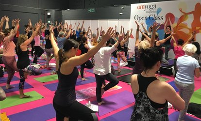 image for Om Yoga Show, One-Day to Three-Day Tickets, 20 - 22 April, Event City, Manchester (Up to 53% Off)