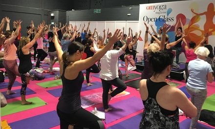 Om Yoga Show, One-Day to Three-Day Tickets, 20 - 22 April, Event City, Manchester (Up to 53% Off)