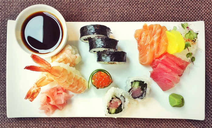 Sushi Tasting Experience for Two or Four at The Orient Asian Restaurant
