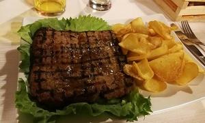 Bellavista: Menu con 1 o 2 kg di grigliata di carne con bottiglia di vino per 2 o 4 persone al Bellavista (sconto fino a 65%)