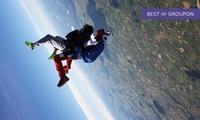 Un saut en parachute en tandem pour 1 personne à 199 € avec AzurXtrem