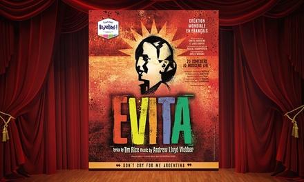 """Une place pour """"Evita"""" au Château du Karreveld lors du festival Bruxellons! dès 24,99€"""