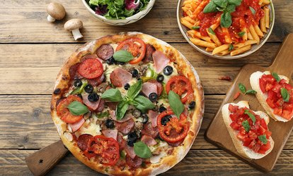<strong>Italian</strong> Food at Randy's Wooster Street Pizza Shop (Up to 47% Off)