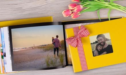 Livre photo premium A4, couverture et nombre de pages au choix sur le site Colorland