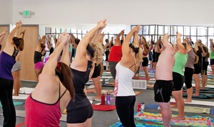 Bikram Yoga West Jordan: 30 or 60 Days of Unlimited Yoga Classes at Bikram Yoga West Jordan (Up to 85% Off)