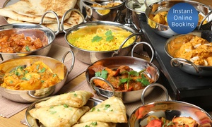 Shaahi Tandoori Enmore: Three-Course Dinner with Drinks for Two ($29) or Four People ($55) at Shaahi Tandoori, Enmore (Up to $133 Value)