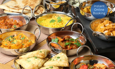Three-Course Dinner with Drinks for Two ($29) or Four People ($55) at Shaahi Tandoori, Enmore (Up to $133 Value)