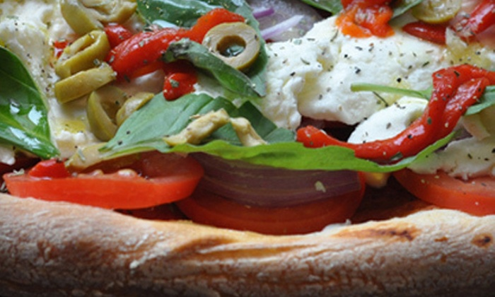 Brick 3 Pizza - Multiple Locations: Specialty Pizzas at Brick 3 Pizza (Up to 55% Off). Three Options Available.