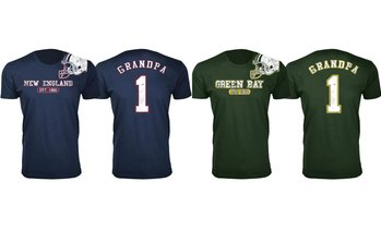 Men's Grandpa Football T-Shirt