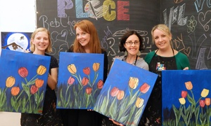 The Paint Place: Two-Hour BYOB Painting Class for One, Two, or Four Including Supplies at The Paint Place (Up to 47% Off)