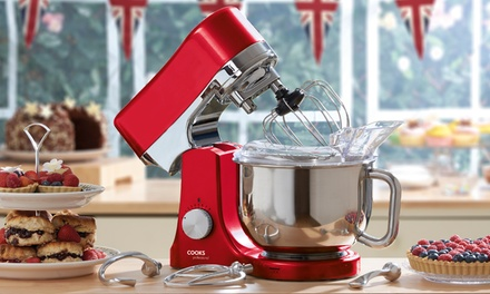 Cooks Professional Die Cast Stand Mixer in a Choice of Colour...