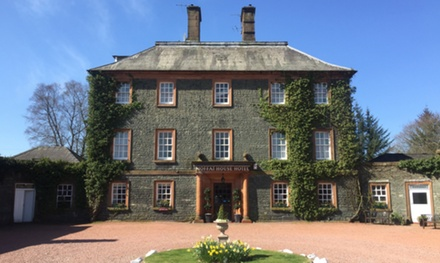 Dumfriesshire: 1 or 2 Nights for Two with Breakfast, Late Check-Out and Bottle of Prosecco at Best Western Moffat Hotel