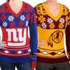 NFL Women's NFC Big Logo Ugly Sweater
