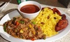 San Juan BBQ - Riverside: Puerto Rican Food for Two or Four for Dine-In or Takeout at San Juan BBQ (Up to 63% Off)