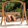 Marlette Wood Swinging Bench
