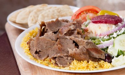 image for $12 for $20 Worth of Greek Food and Drinks at Little Greek Fresh Grill