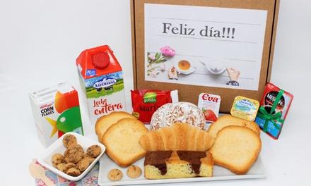 Desayuno o merienda a domicilio en toda la península para 1 o 2 personas desde 19,95 € en Los Desayunos de la Abuela
