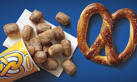 Four $5 Groupon Vouchers at Auntie Anne's (Up to 40% Value)