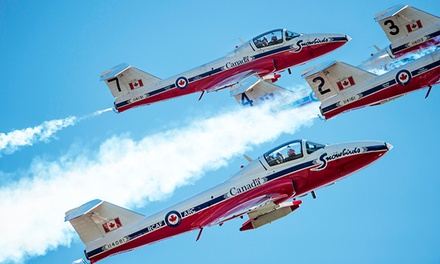 Oregon International Air Show on September 28 at 5:30 p.m. or September 30 at 9 a.m.