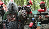 Paintball Deal for Zombie Stag & Hen Parties, Kids & Adult Birthday Parties, Friends & Family For 5, 10, 20, 30 Players