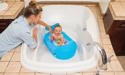 Ballena inflable para bañera de bebé Infantino