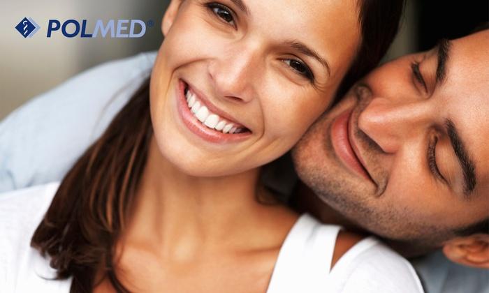 Polmed - Wiele lokalizacji: Skaling, piaskowanie, fluoryzacja i przegląd jamy ustnej od 79,90 zł w Centrum Medycznym POLMED - 6 lokalizacji