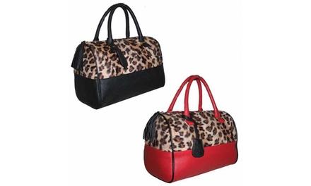 One or Two Leopard Design Women's Handbags