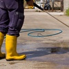 Up to 50% Off Pressure Washing of Garage or Driveway