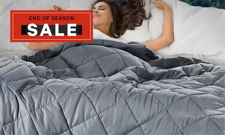 Cuddle Weighted AntiAnxiety Gravity Blanket: 2kg $39, 4kg $49, 6kg $55 or 8kg $59 Don't Pay up to $229