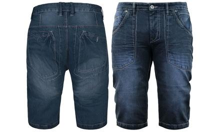 Korte spijkerbroek voor mannen van het merk Stallion in maat naar keuze