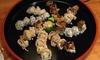 Japanisches Sushi-Menü