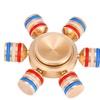 DIY 6-Arm Brass Fidget Spinner
