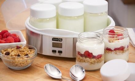 Dash 7-Jar Yogurt Maker or Greek Yogurt Maker