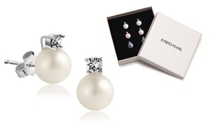 (Bijou)  BO perles et cristaux Swarovski® -89% réduction
