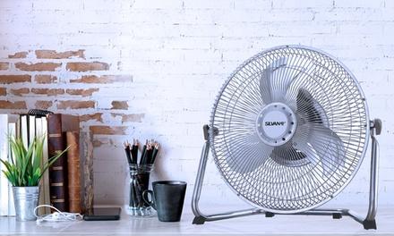 Ventilatore da tavolo Silvano con 3 velocità disponibili