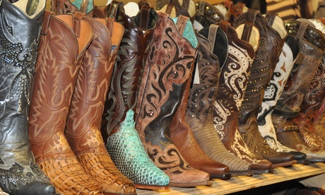 $49 for $75 Value Towards Cowboy Boots and Country Fashion at Russell's Western Wear