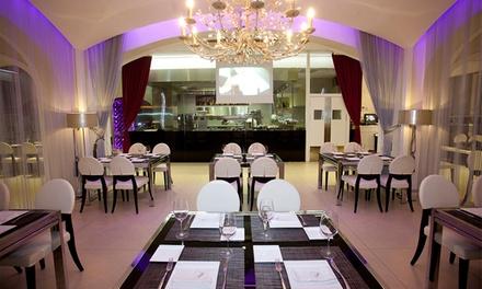 Menú mediterráneo para 2 o 4 con entrante, principal, postre y bebidas desde 49,95 € en La Platea, 2 ubicaciones