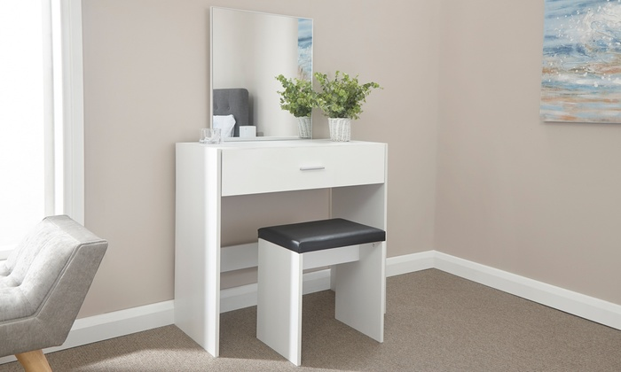 Clara Dresser and Stool Set from £69.99 (41% OFF)