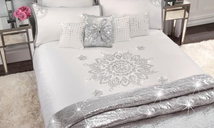 By Caprice Embellished Bedroom Set