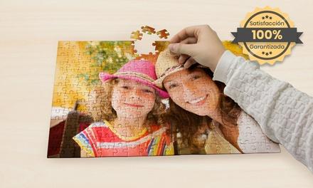 Puzzle personalizable en dos tamaños a elegir con PrinterPix (hasta 83% de descuento)