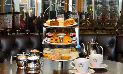 Traditional Afternoon Tea for Two at Patisserie Valerie, Two Locations (27% Off)
