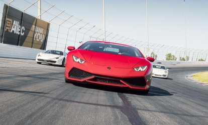 image for Drive a Ferrari, Lamborghini, Porsche and more on a Racetrack with no speed limits (Up to 56% Off)