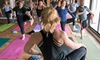 The Den Yoga & Fitness - West Seventh: 10 or 20 Yoga Classes, or a Month of Unlimited Yoga Classes at The Den Yoga & Fitness (Up to 69% Off)