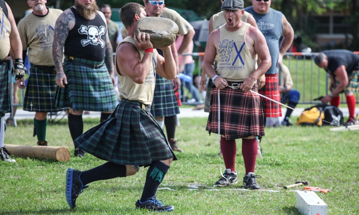 Dunedin Highland Games & Festival - Highlander Park: $26 for a Visit for Two to Dunedin Highland Games & Festival ($36 Value)
