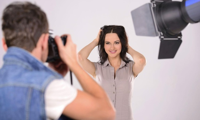 Sharpfocus Photography - Clinton: One-Hour Studio Shoot with up to Three Looks and Two Wardrobe Changes from Sharpfocus Photography ($200 Value)
