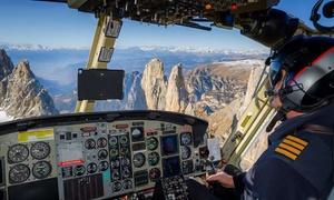 Grs Helicopter Service: Esperienza di volo sulle Dolomiti per una persona con Grs Helicopter Service (sconto fino a 30%)