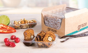 Graze.com USA: Wholesome Snacks or Snack Subscription Service from graze (Up to 57% Off)