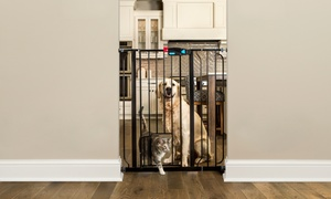 Carlson Extra Tall Gate with Pet Door
