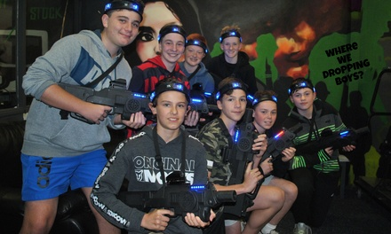 Laser Tag $149, Sports $199 or Combo Party $239 for Up to 10 Kids at Mega Courts Indoor Sports Up to $340 Value
